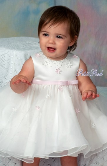 Sarah Louise 070054 Christening | Flowergirl Dress