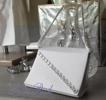 Little People 5315 Satin & Diamante Communion Bag