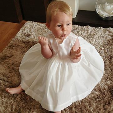 Sarah Louise 003761 Triple Layer Slip Dress IVORY