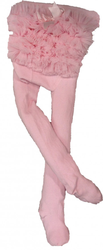 Couche Tot CT02 Baby Ruffle Tutu Tights PINK