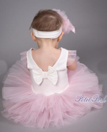 Caramelo 031 Baby Tutu Dress and headband set
