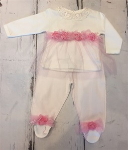 Couche Tot CT3626 Baby Girls 2 Piece Set GIFT BOXED