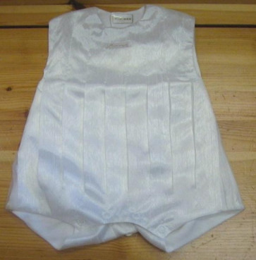 La Petite Ourse 10119 Sample White Bubble Romper