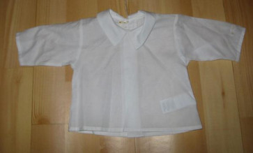 La Petite Ourse 04187 White Cotton Top