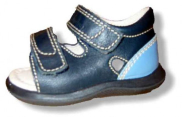 Naturino 90031 Falcotto Navy Leather Sandal