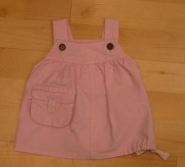 La Petite Ourse 60153 Sample  Pink Cotton Drill Dress