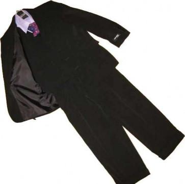 Klassickids K4399 Boys Black Jacket Waistcoat and Trouser Suit