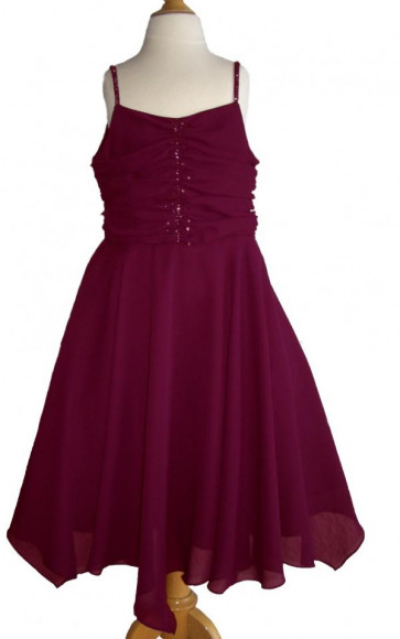 Sarah Louise 6158 Plum Special Occasion Prom Dress