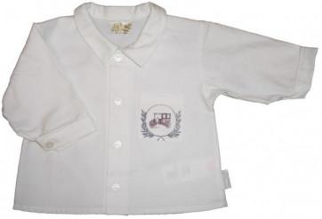 La Petite Ourse 22982 Sample  White Long Sleeve Shirt