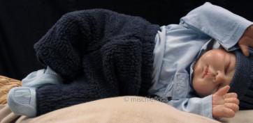 Taille O 24867 Sample Navy Fleece Pants