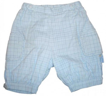 La Petite Ourse 24382  Sample  Blue Check Trousers