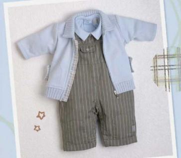 La Petite Ourse 24398 Sample  Blue Collar Top CIEL