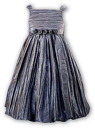 Sarah Louise 070 6731 Puffball Dress BLUE