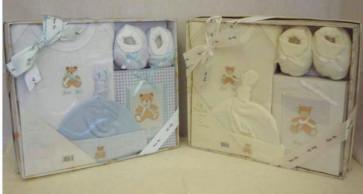 NEWBORN 25951c Cream 4 Piece Photo Album Box Set