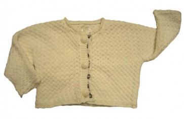 La Petite Ourse 26236  Sample Knit Cardigan DINETTE
