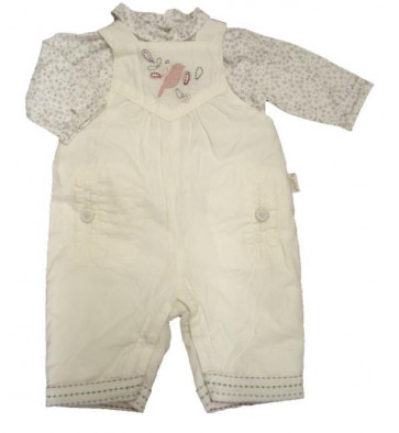La Petite Ourse 26251  Sample Top n Dungarees GARDEN