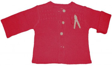 La Petite Ourse 26266  Sample Cerise Cardigan RAGDOLL