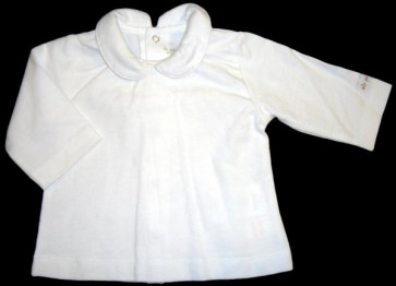 La Petite Ourse 26285  Newborn Sample White Top  WAS £17.99 NOW £4.99