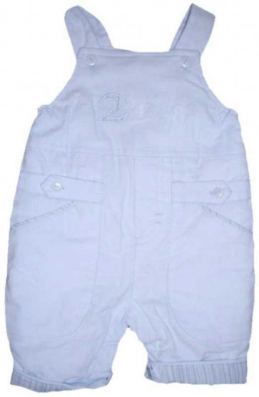 La Petite Ourse 26332 Newborn Sample  Blue Dungarees  WAS £38.99 NOW £9.99
