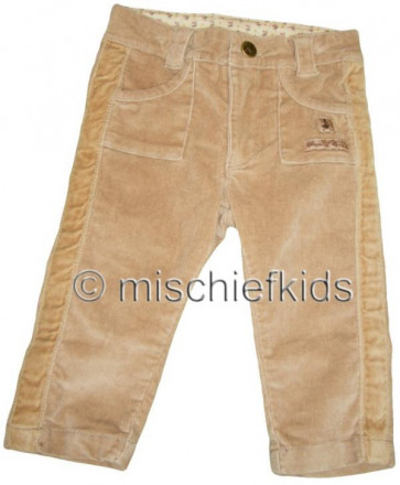 Eliane et Lena 26773 Sample Tan Trousers GOLDEN