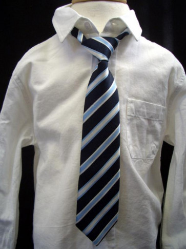 Mayoral 27301 Boy Navy Stripe Tie