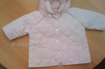 Emile et Rose E9162p ASHLEY Quilted Jacket PINK