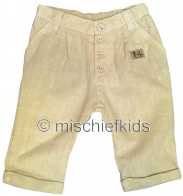 Eliane et Lena 27707 Boys Sample Buttermilk Trousers BROUSSE