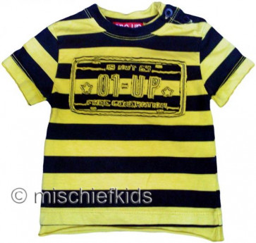 Eliane et Lena 27739 One Up Sample Yellow Stripe Tee SCRAPMETAL