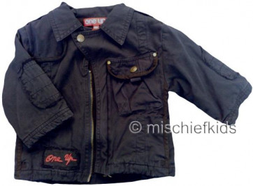 Eliane et Lena 27759 One Up Sample Navy Zip Jacket MR CORTO