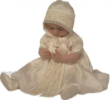 Little Darlings BS2633 Trinity Christening Romper Dress Set