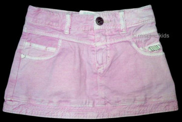 Mayoral 28543 Girls 2yr Sample Pink Denim Skirt