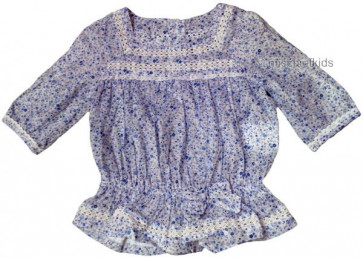 Mayoral 28623 Girls 2yr Sample Floral Gypsy Top