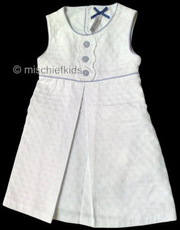 Mayoral 28627 Girls 2yr Sample White Dress