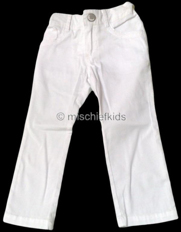 Mayoral 28629 Girls 2yr Sample White Jeans