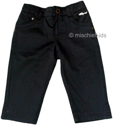 Mayoral 28647 Girls 2yr Sample Black Crop Trousers