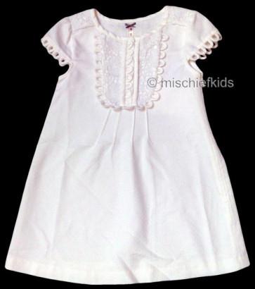 Mayoral 28654 Girls 2yr Sample Cream A-Line Dress