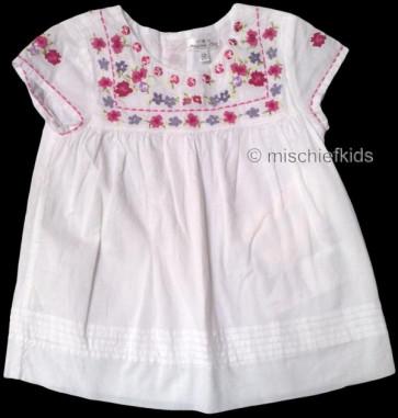 Mayoral 28683 Girls 2yr Sample White Cotton Top