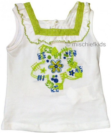 Mayoral 28707 Girls 2yr Sample White Top