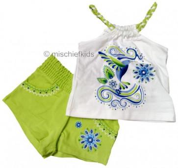Mayoral 28732 Girls 2yr Sample Vest Lime
