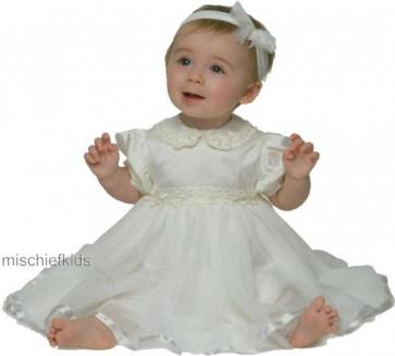 Little Darlings D1310 Tinkerbell Silk Tulle Christening Dress