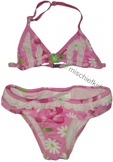 Mayoral 28737 Girls 2yr Sample Pink Cherry Bikini