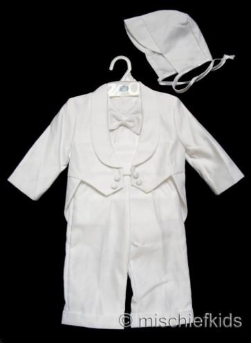 OCCASIONS JULIO White Boys Tuxedo style Suit