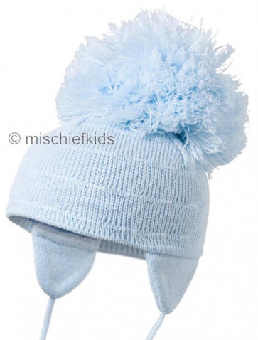 Satila PRANCE Huge Pom Hat BLUE