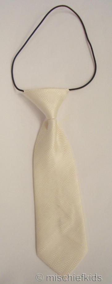 Antonio Villini PD013 Ivory Swirl Tie on Elastic