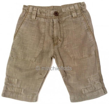 Eliane et Lena 31209 Boys Sample Beige Trousers  WAS £37.99 NOW £9.99