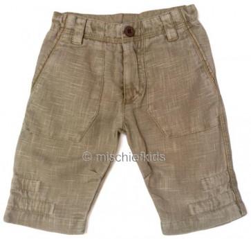 Eliane et Lena 31209 Boys Sample Beige Trousers DESERT