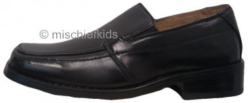 OCCASIONS A8753X Boys Black Slip On Shoes