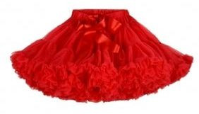 Fairytales Ruby Red Tulle Pettiskirt Skirt