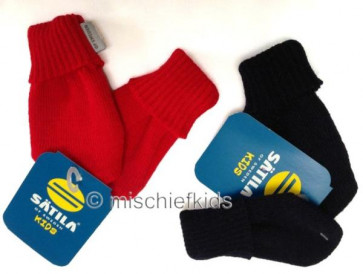 Satila TRIXIE Baby Mittens (no thumb) NAVY or RED