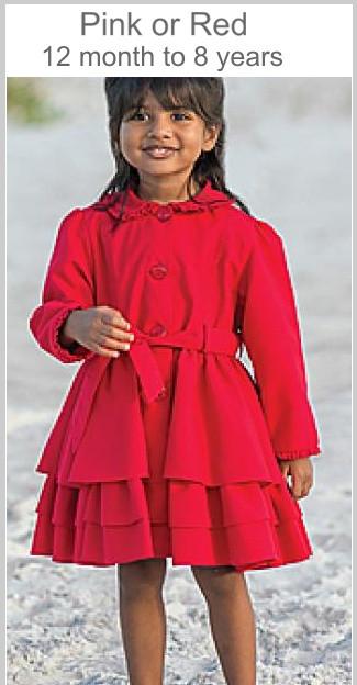 Dani lightweight summer Jacket RED